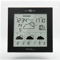 Technoline Wd 4017 Wetter Direkt Glas-Funk-Wetterstation Sender Tx 48 Wd It