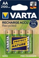 Varta Recharge Accu Recycled AA 2100mAh 4er