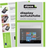 2x Microsoft Surface Go 2 Schutzfolie matt Displayschutzfolie Folie Display