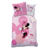 Disney Minnie Mouse Bettwäsche Set Biber Flanell 80x80 cm 135x200 cm