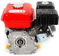 4-Takt Benzinmotor 5100W 7,5 PS Einzylinder Motor 3,6L Standmotor Kartmotor Schiffsmotor Gasoline Engine Ölmangelsicherung stehender Motor mit Gewinde