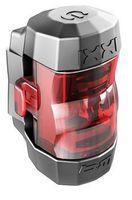 BUSCH & MÜLLER LED-Rückleuchte IXXI - integrierter Lithium Akku - schwarz