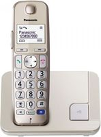 Panasonic KX-TGE210GN Schnurlostelefon Seniorentelefon champagner gold