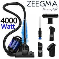 ZEEGMA CYCLONE Staubsauger ohne Beutel 899W Beutelloser Zyklonstaubsauger mit HEPA-Filtern
