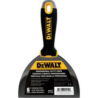 """DEWALT Spachtel Malerspachtel 152mm, 6"""" Stielspachtel Soft Griff PROFI DXTT 2-142"""