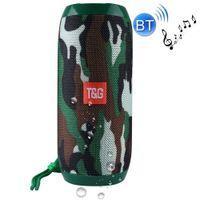 Mini Bluetooth Lautsprecher Soundbox Soundstation Musikbox Radio USB Tragbar Spritzwassergeschützt-Camouflage
