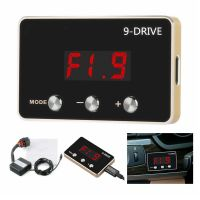 Elektronische Drosselklappe Gaspedal 9 Modus Drosselklappe Controller Auto Tuning Boost Leistung (Rot)