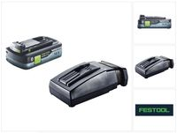 Festool HighPower Akku Set 18V mit 1x Akku 4,0Ah HPC-ASI ( 205034 ) + TCL 6 Ladegerät ( 201135 )