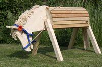 Helga Kreft Gartenpferd Tamme hochwertiges Spielpferd für den Innen- und Außenbereich