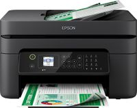 Epson Mulitfunktionsdrucker WorkForce WF2830DWF, 4in1, WLAN, Farbe: Schwarz