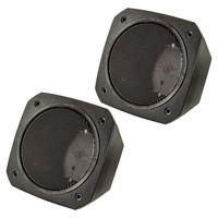 Aufbau Lautsprecher Gehäuse für 100x100 mm DIN Lautsprecher Retro KFZ Boot LKW Baumaschinen