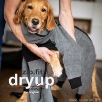 Dryup Body Zip Fit grau XL (70cm)