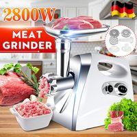 220V 2800W Elektrischer Fleischwolf Wursthersteller Food Mincer Machine