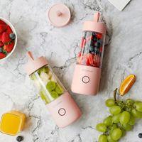350ml Mini Tragbare Elektrische Obst Entsafter USB Smoothie Maker Mixer Maschine Sport Flasche Entsaften Tasse
