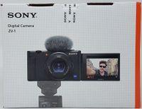 Sony Vlog-Kamera ZV-1 in Schwarz