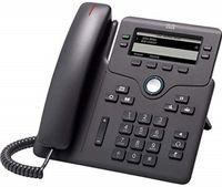 Cisco 6851 IP-Telefon Schwarz Kabelgebundenes Mobilteil 4 Zeilen WLAN