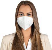 5x  TECHNIMASK FFP2 Atemschutzmaske FFP2 Maske Staubschutzmaske Atemmaske Staubmaske 5 Stück verpackt im hygienischen PE Beutel