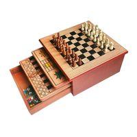 Holz Schach Brettspiel Set Turnier Schach Schach Spiel mit Solide Stücke für Professionelle Schach Spieler