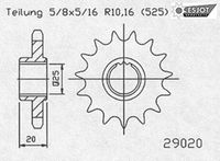 Regina Aprilia RSV4 Kettensatz