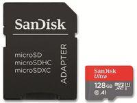 SanDisk Ultra Speicherkarte 128 GB MicroSDXC Klasse 10