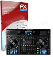atFoliX FX-Clear 3x Schutzfolie kompatibel mit Pioneer DDJ-RZX Displayschutzfolie
