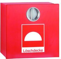 Löschdeckenbehälter, Kunststoff, rot, H 305 x B 315 x T 125 mm