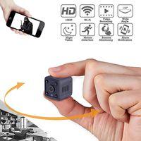 Mini Kamera,Klein Akku Überwachungskamera Aussen Innen WLAN Handy mit Bewegungserkennung und Speicher Aufzeichnung Mikro WiFi IP Kamera,Nachtsicht Wireless Nanny Cam