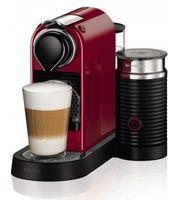 Krups XN 7605 Nespresso New CitiZ&Milk Cherry Red