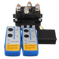 HD Elektrische Seilwinde Relais 12V 500A mit Funkfernbedienung Magnetventil 4x4