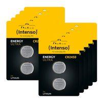 20 Intenso Energy Ultra CR 2450 Lithium Knopfzelle Batterien im 2er Blister