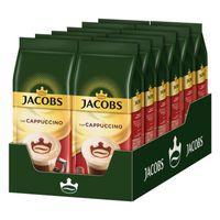 JACOBS Typ Cappuccino 10 Beutel löslicher Kaffee Intantkaffee 10 x 400 g cremig