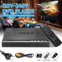 Digital 1080P Full HD DVD Player USB Auto CD Spieler mit Fernbedienung