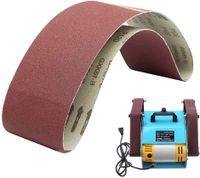 Schleifbänder für Holzarbeiten, Bandschleifer, Metallpolieren, 100 mm x 915 mm, 5 Stück, Körnung 80