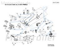 AEON Magnet Tacho - neue Nummer X056A070000 37203-159-000