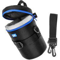 JJC DLP-4II Wasserabweisend Deluxe Objektiv Tasche mit Schultergurt passt Objektiv Größe unter 100 x 182 mm