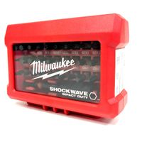 Milwaukee Shockwave Compact-Set 32-teilig inkl. Bithalter PH, PZ, TX, TX BO, Hex