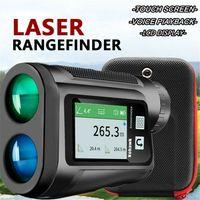 6X 600M Golf Jagd Entfernungsmesser Mit Steigung Funktion Flag-Lock LCD-Display