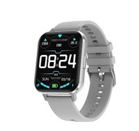 Zodight DTX EKG Smart Watch 2020 1,78 Zoll Big 420 * 485 HD 2,5D Bildschirm Wettervorhersage Dual Modi DIY Gesicht Smartwatch Männer Frauen Silber Grau