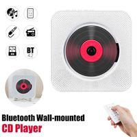 Wand-CD-Player Surround-Sound FM-Radio Bluetooth USB-MP3-Disk Tragbarer Musik-Player Fernbedienung Stereo-Lautsprecher