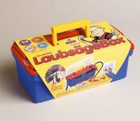 Laubsägebox i. Plastikkoffer