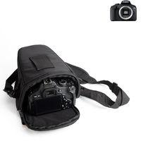 K-S-Trade Schultertasche für Canon EOS 2000D Colt Kameratasche für Systemkameras DSLR DSLM SLR, Bridge etc., Schutzhülle bag Zubehörtasche