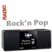BOBs ROCK RADIO Internet- und DAB+ Digitalradio, Farbe:schwarz