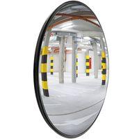 PrimeMatik - Konvexen Spiegel Überwachungsspiegel Sicherheitsspiegel Kassenspiegel Sicherheitsspiegel 45cm Innen