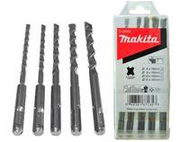 Makita D-36049 Steinbohrer SET 5 St. SDS-Plus 6 8 10 12 x 160mm  Hammerbohrer