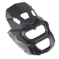 1 Stück Scheinwerferverkleidung Windschutzscheibe Farbe Schwarz Größe wie beschrieben