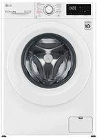 LG F4WV309S0 Freistehende Waschmaschine, Frontlader, Weiß, , 1400 U/min, 9 kg Fassungsvermögen, 58 kWh/100 Zyklen, 50 Liter/Zyklus, 54 dB Waschlautstärke, Inverter-Motor, 60 cm Breite, Startzeitvorwahl, Dampffunktion