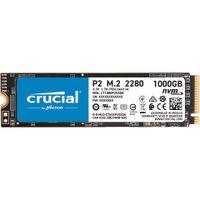 Crucial interne SSD Festplatte P2 1TB 3D NAND NVME PCIe M.2 SSD