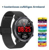 L11 Smart Watch Männer EKG+PPG Herzfrequenz-Blutdruckmessgerät IP68 Wasserdichte Wetter-Smartwatch