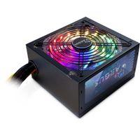 Inter-Tech Argus RGB-500W II - 500 W - 100 - 240 V - 50/60 Hz - 8 - 4 A - Aktiv - Überlastung - Über Inter-Tech
