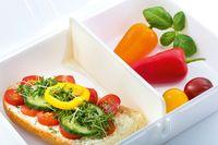 koziol Lunchbox Pascal L L 23,2 x B 16,6 x H 6,2 cm,  Farbe Schwarz